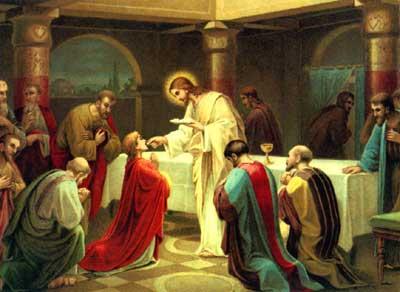 How do you approach Holy Communion? – Through The Cross To Light